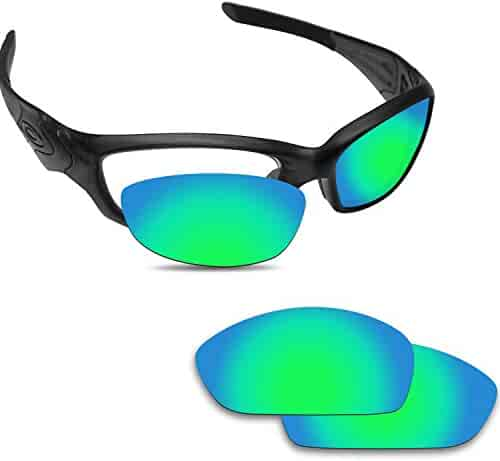 48314e92dd Fiskr Anti-saltwater Replacement Lenses for Oakley Straight Jacket 2007  Sunglasses - Various Colors