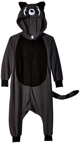 RG Costumes 40229 Funsies' Rocky Raccoon, Child Medium/Size 8-10, Charcoal/Black/White]()