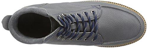 Lacoste MONTBARD BOOT 2 - botas de cuero hombre gris - Grau (GRY 007)