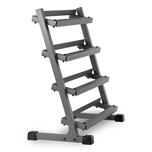 XMark Fitness 3' Four Tier Dumbbell Rack XM-3109.1
