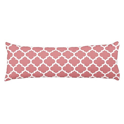 Standard cuerpo funda de almohada decorativa verano Coral ...