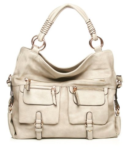 Urban Expressions Afternoon Bag in Bone, Bags Central