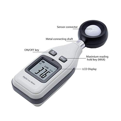 Level Measuring Instruments - Digital Luxmetro Light Meter Portable Handheld Lcd Lux Fc Test Measure Gm1010 Luminometer Photometer - Lux Lux 334 Instruments Luminometer Meter Watch Dress L