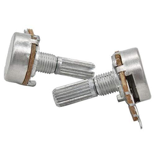Twidec //3296W 1K 5K 10K 50K 100K 500K ohm Multiturn Trimmer Potentiometer,10Pcs