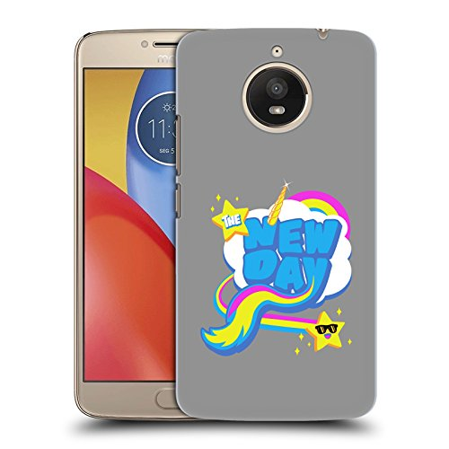 Official WWE Rainbow The New Day Hard Back Case for Motorola Moto E4 - Back Rai Wwe