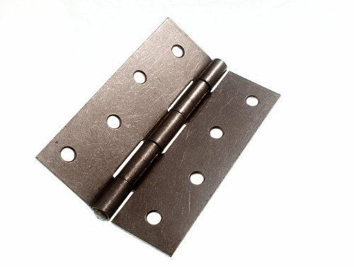 100 Pairs Butt Hinge ( Door Gate ) Steel Self Colour 75Mm 3 Inch by DIRECT HARDWARE