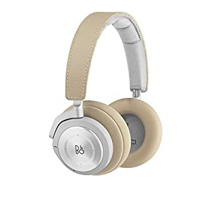 Bang & Olufsen Beoplay H9i Wireless Bluetooth Over-Ear Headphones with Active Noise Cancellation, Transparency Mode and Microphone – Natural – 1645046