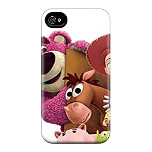 For Iphone 4/4s Tpu Phone Case Cover(toy Story 3)