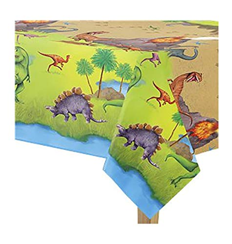 Rimi Hanger Carnival Shamrock Plastic Table Cover 1.37 X 2.13 M Party Tableware Accessories Dinosaur Tablecover One Size
