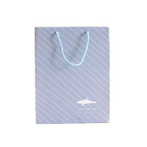 Deep Blue Shopper Bandolera Regalo Aikesi De Bolsos Sólido Color Bolso Tote fp4zqwS