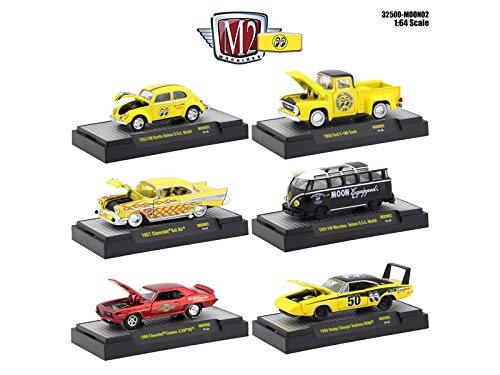 M2 Machines Auto Thentics Mooneyes 6 Piece Set in Display for sale  Delivered anywhere in USA