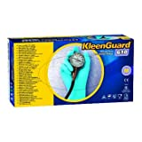 Kimberly-Clark 57373 G10 Glove, Large, Nitrile, Blue (Pack of 100)