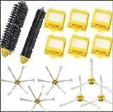 6 Hepa Filter + 1 set hair Brush kit + 3 set side brush for iRobot Roomba 700 Series 770 780 790 vacuum cleaner accessories
