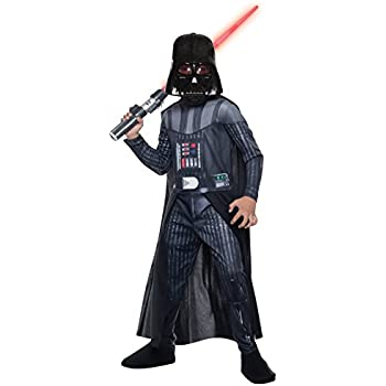 Amazon.com: Rubies Star Wars Classic Childs Deluxe Darth ...