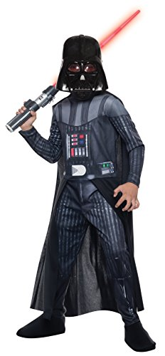 [Rubie's Costume Star Wars Classic Darth Vader Child Costume, Medium] (Darth Vader Costumes Boys)