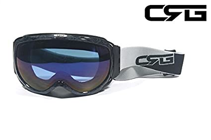 988e499dabb Amazon.com   CRG Sports Anti Fog Double Lens Ski Goggles
