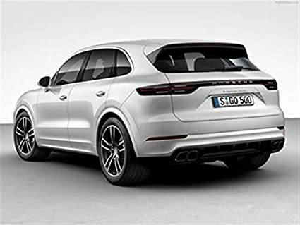 Image Unavailable. Image not available for. Color: Porsche Cayenne Turbo 2018 ...