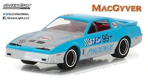 1987 Pontiac Firebird ''MacGyver'' (1985-1992 TV Series) Hollywood Series 17 1/64 by Greenlight 44770 D by Pontiac