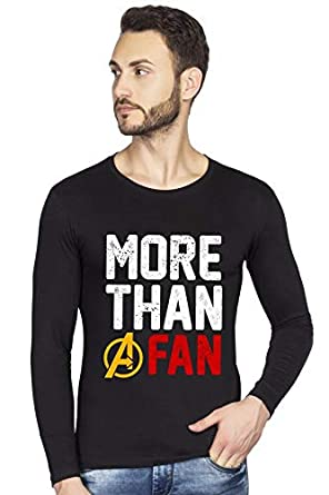 fc4f7ea29 bluehaaat More Than A Marvel Avengers End Game Graphics Printed Full Sleeve  Cotton Tshirt for Men: Amazon.in: Clothing & Accessories