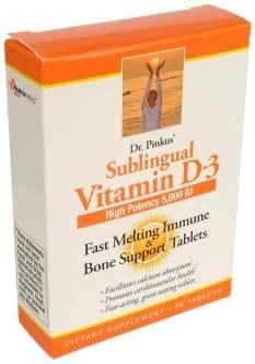 Sublingual Vitamin D3