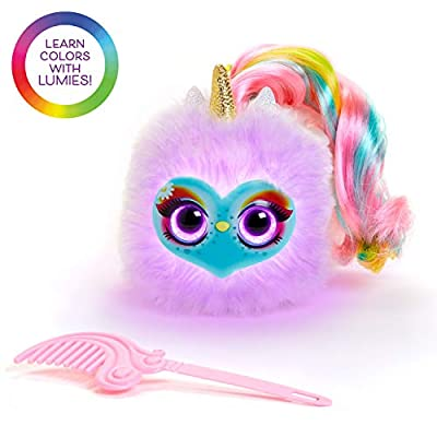 """Lumies """"Let's Learn Colors"""" Plush Unicorn Interactive Toy — Preschool Kids: Toys & Games"""