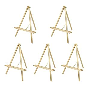 Table Easel 22 inch CONDA Natural Wood Artist Tripod Easel(5 pack)