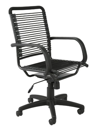 Eurø Style Bungie High Back Adjustable Office Chair with Ar