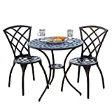 Best Selling Cast Aluminum Bistro Set, 3-Piece Review