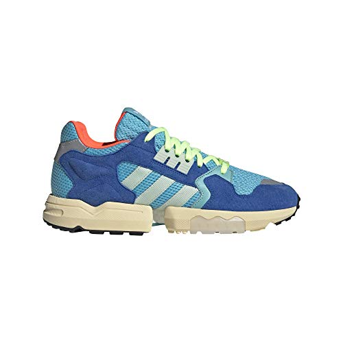 adidas ZX Torsion Mens in Bright Cyan/Linen Green, 9