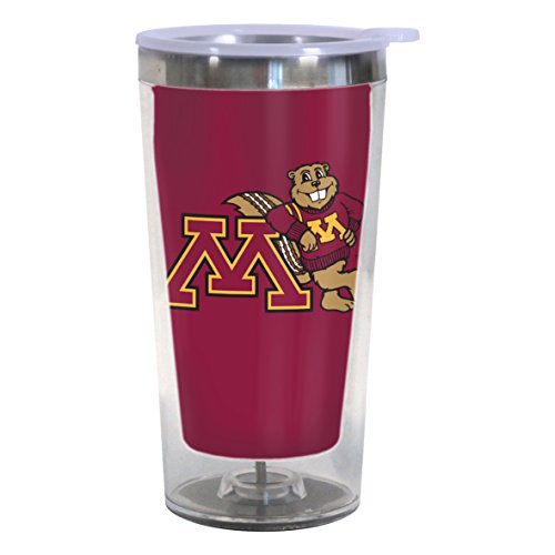 Boelter Brands NCAA Minnesota Golden Gophers Color Changing Tumbler, 16-ounce by Boelter Brands