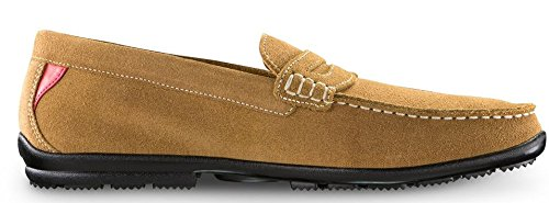 FootJoy Club Casuals Penny Loafer Shoes 2016 Tan Medium 11.5