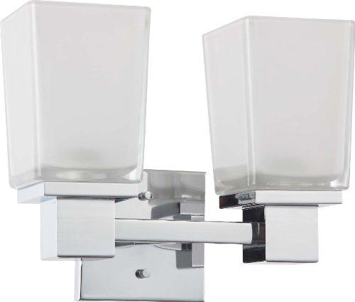 Nuvo Lighting 60/4002 Two Light Vanity, 2Lt, Polished ()