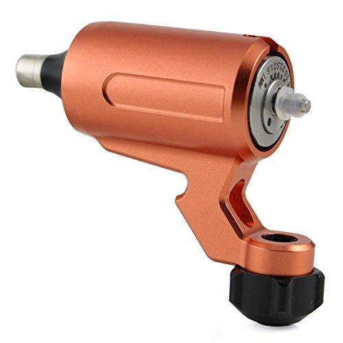 Adjustable Stroke Direct Drive Rotary Tattoo Machine Free RCA Cord For Tattoo Supply (Orange)