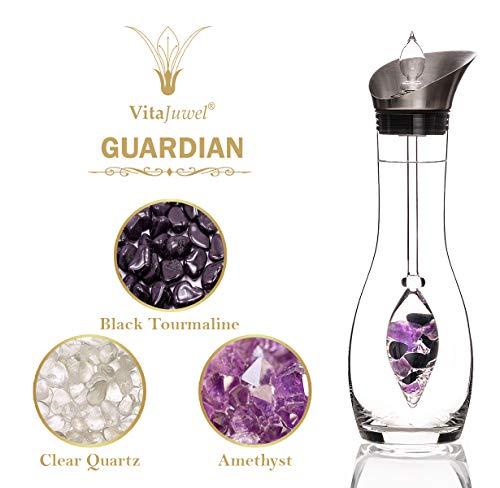 VitaJuwel Era GemWater Decanter and Crystal Gemstone Vial - Guardian by VitaJuwel (Image #2)