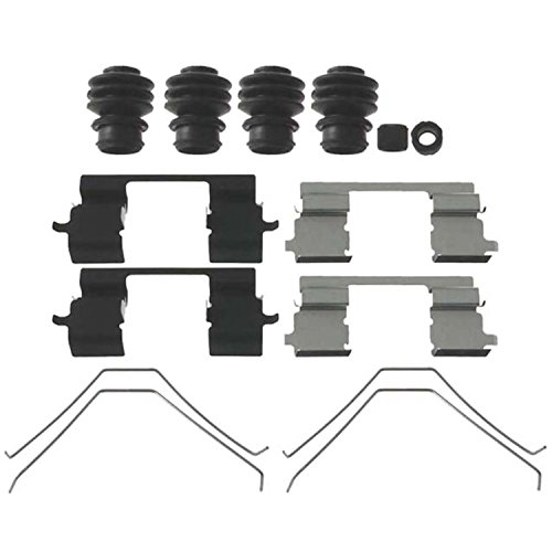 ACDelco 18K2122X Professional Front Disc Brake Caliper Hardware Kit with Clips, Springs, Seals, and Bushings