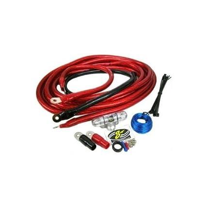 amazon com stinger 4 gauge 1400 watts amplifier wiring kit car rh amazon com stinger 4 gauge wiring kit review Stinger 4 Gauge Wiring Kit