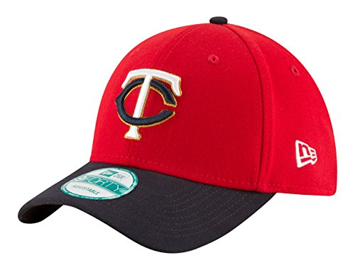 New Era MLB Minnesota Twins Alt 2 The League 9FORTY Adjustable Cap, One Size, Red ()
