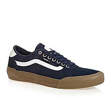 Amazon.com | Vans Mens Chima PRO 2 Navy/Gum/White (10 D US ...