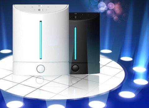 Fashion and Lovely USB Mini Anion Air Purifier/oxygen Ionizer Air Purifier Black