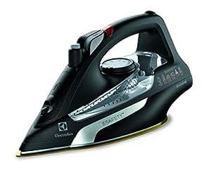 Electrolux 5 Safety – Plancha de 2400 W y 180 gramos de golpe de vapor, color negro