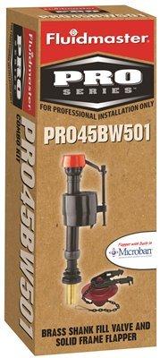 Fluidmaster PRO45BW501 Fluidmaster Pro Brass Shank Fill V...