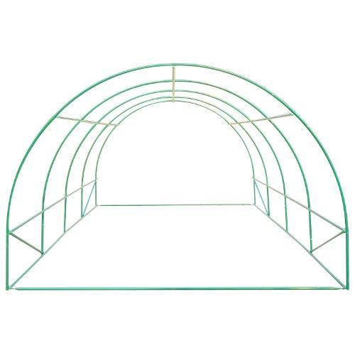 Outsunny 20' x 10' x 7' Portable Walk-In Garden Greenhouse