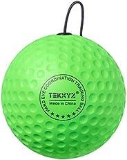 TEKXYZ Boxing Reflex Ball Replacement Ball - Boxers Ball, Green