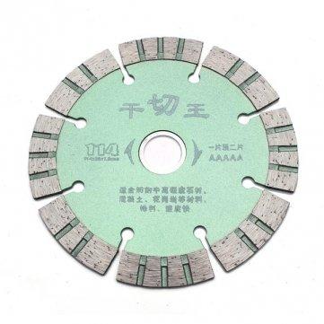 114x1.8x20mm Diamant-Trennscheiben Diamant-Trennscheibe Max 3000m / s