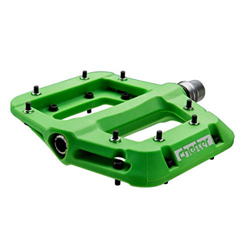 Race Face Chester Pedal Green, One Size by RaceFace