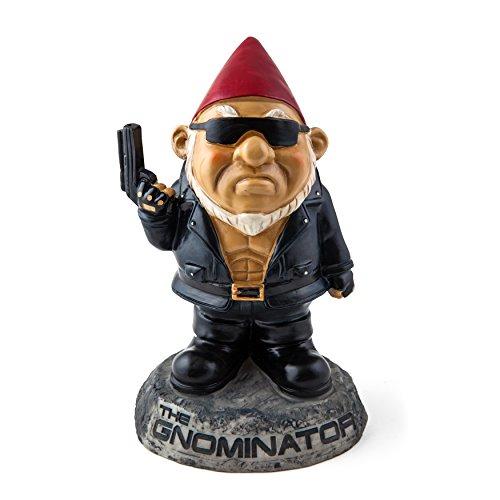 """BigMouth Inc """"The Gnominator"""" Garden Gnome Statues"""