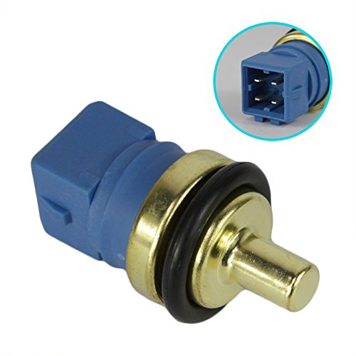 Engine Coolant Temperature Sensor Fit 06A 078 919 501B for Audi A6 A4 Quattro Volkswagen Golf Jetta Beetle Passat 1997 1998 1999 2000 2001 2002 2005 2006/DOICOO (Volkswagen Golf Temperature Sensor)