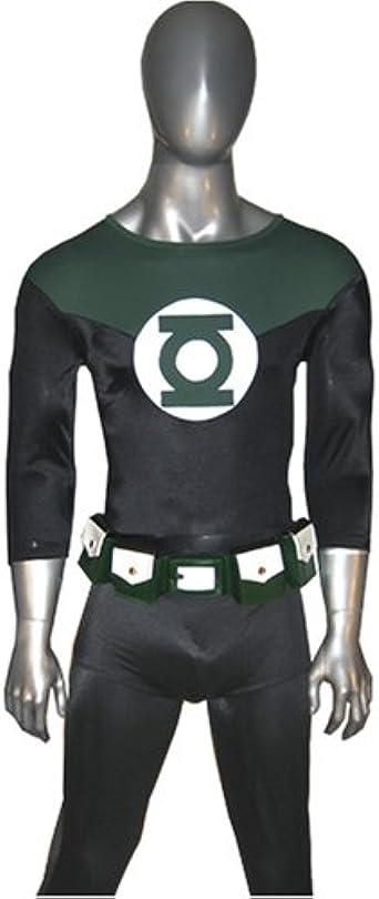 Green Lantern Comics Belt Buckle Us USA American Superhero Fashion Men Costume
