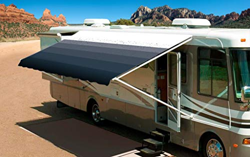 (Shade Pro RV Awning Fabric Replacement Heavy Duty Vinyl (18' (Fabric 17'2