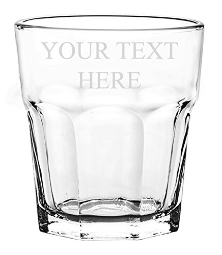 Customized 3D Laser Engraved Personalized Whiskey Scotch Custom - Glass Customized